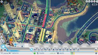 SimCity traffic