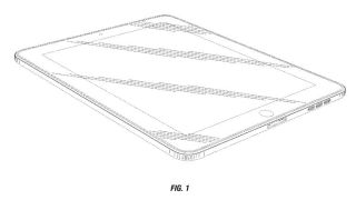 iPad rounded edge patent
