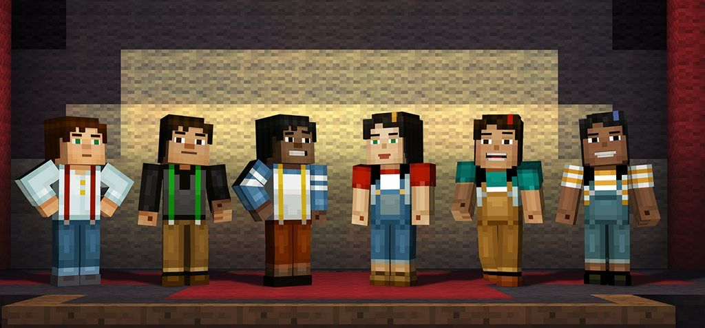 Minecraft Story Mode Will Let Players Select Gender And Skin Tone Pc Gamer