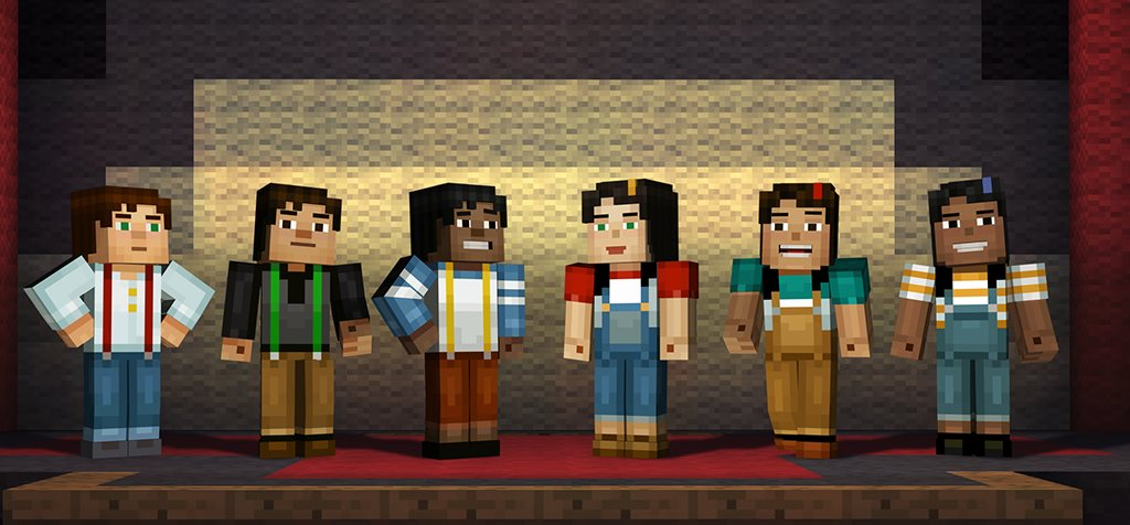 Minecraft: Story Mode will let players select gender and