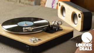 Stir it up this Prime Day with £70 off this sustainably crafted House Of Marley wireless turntable