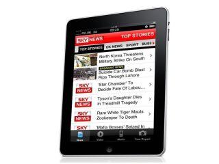 Sky - mobile apps already popular