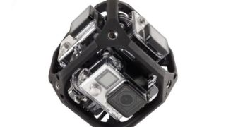 GoPro spherical VR rig