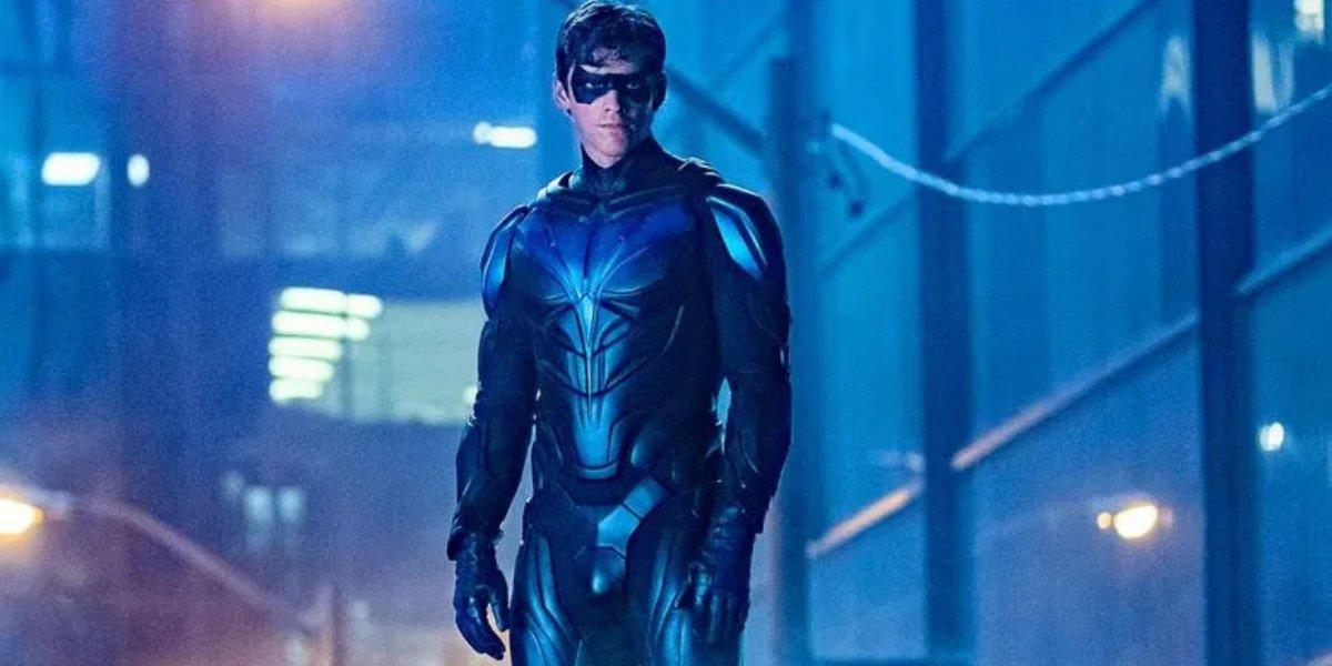 Brenton Thwaites as Nightwing in Titans