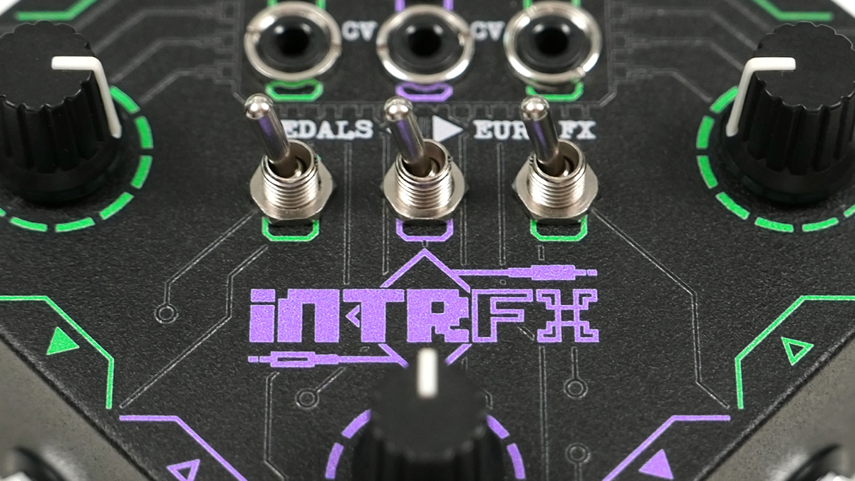 Bridge the gap between your stompboxes and Eurorack modules with INTRFX from Boredbrain | MusicRadar