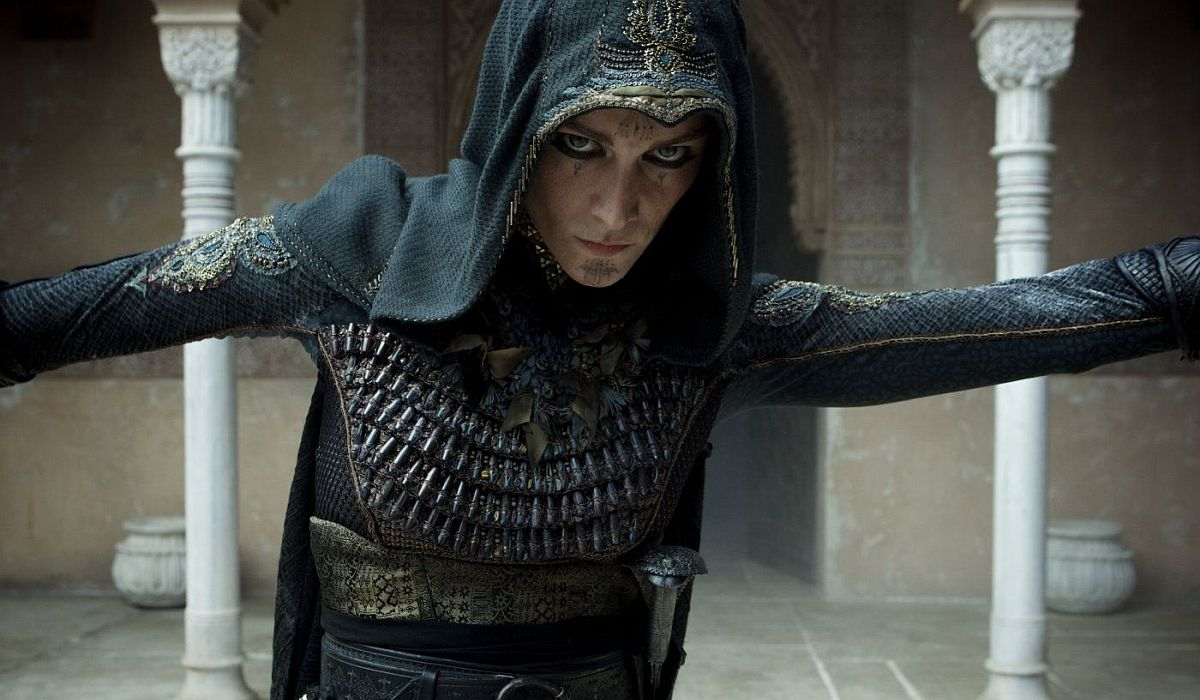 Ariane Labed in Assassin's Creed