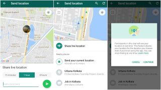 How to share live location in WhatsApp? | TechRadar