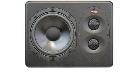 Each speaker is compact and construction and finish are excellent