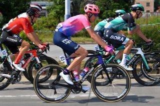 EF Education First's Hugh Carthy on stage 2 of the 2019 Tour of Guangxi