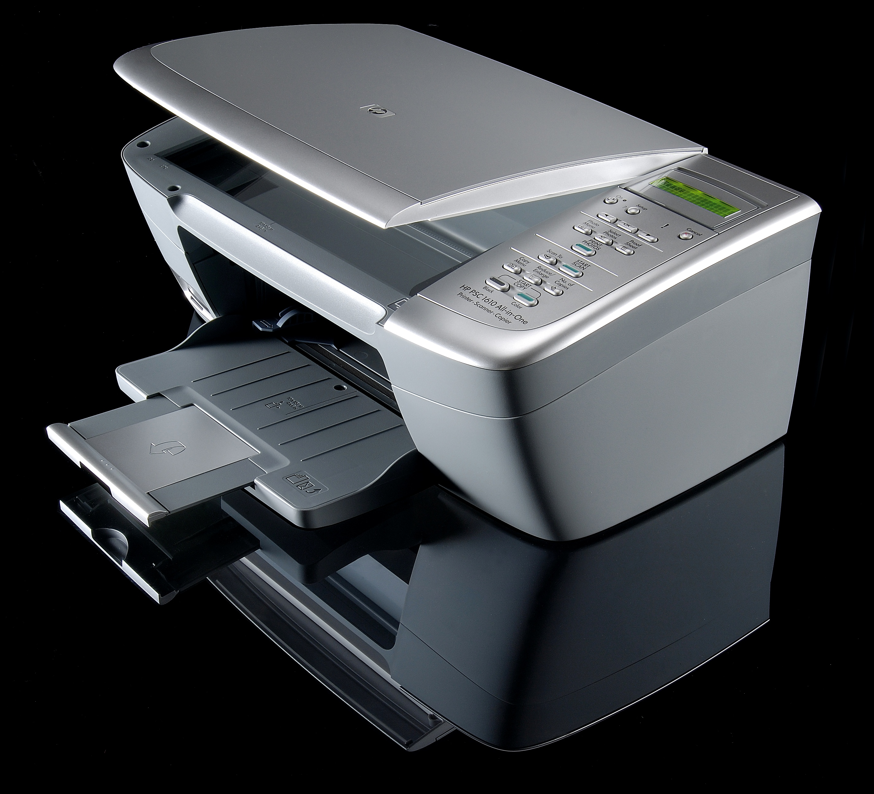 software stampante hp psc 1610 all one