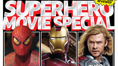 The Ultimate Superhero Movie Special bookazine: out now and also