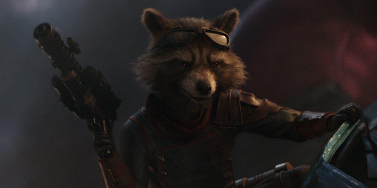 Rocket in Avengers Endgame