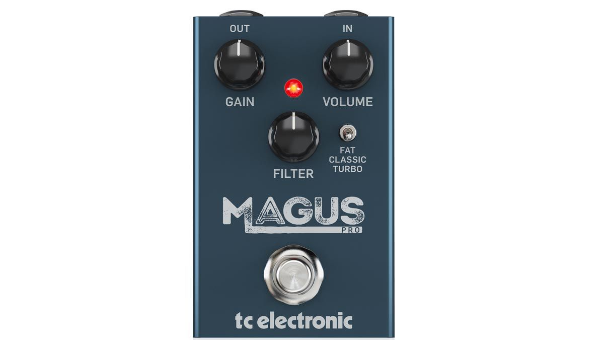 TC Electronic summons the Magus Pro – a super-affordable option for high-gain magic