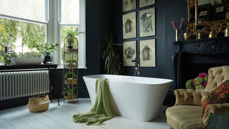Haze freestanding bath, Waters Baths of Ashbourne