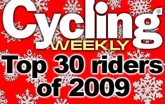 Cycling Weekly top 30 riders of 2009 logo 2