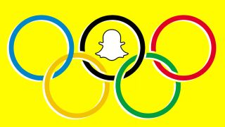 Snapchat the selfie app of the 2016 Olympics