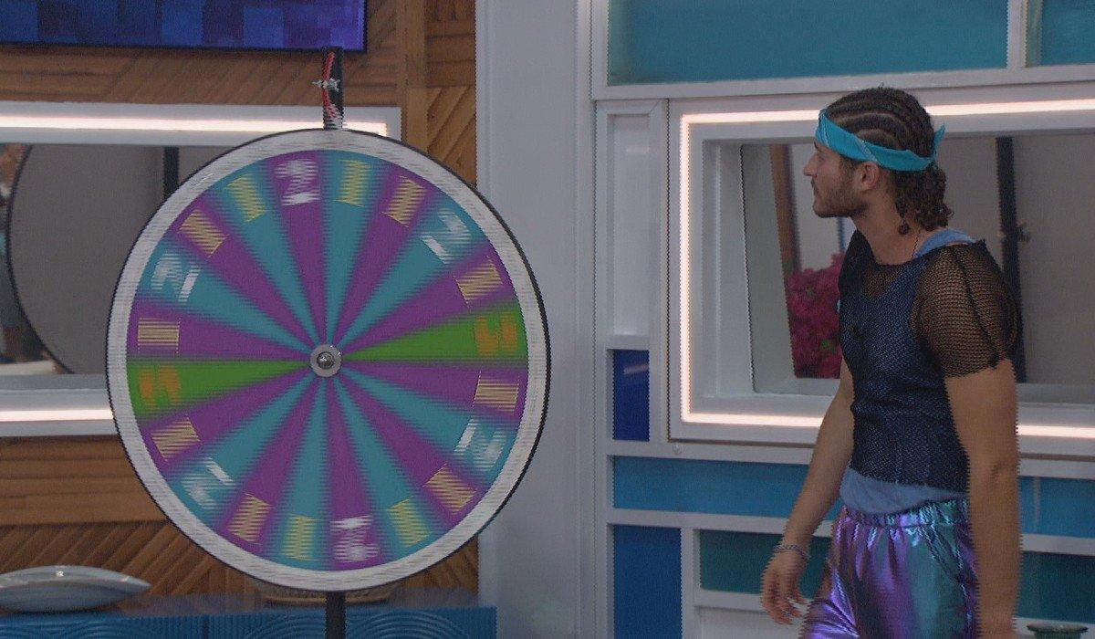 Christian spinning the wheel Big Brother Season 23 CBS