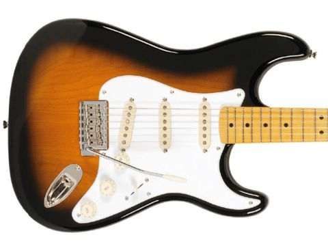 The '50s Strat looks the part