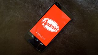 Android KitKat Label