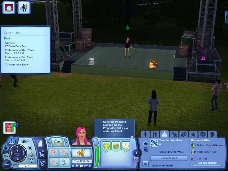 The Sims 3 Showtime Expansion Pack Review: Music, Magic And Acrobatics #21036