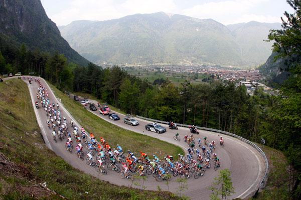 Giro del Trentino scenery