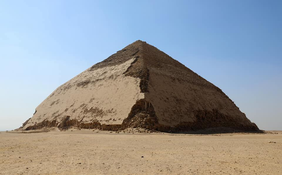 Egypt's 'Bent Pyramid' Opens for First Time in More Than 50 Years