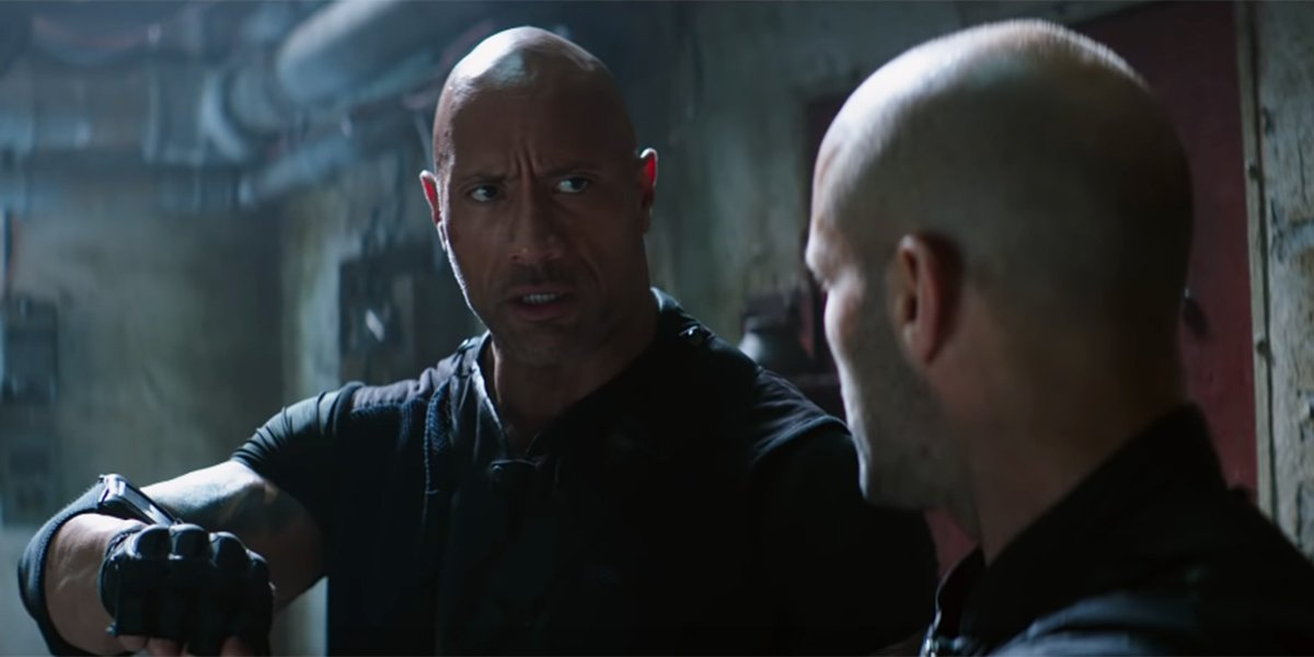 Hobbs and Shaw discussing their gameplan