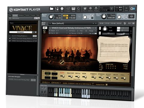 Sonokinetic's Vivace provides the building materials for pro-grade soundtracks.