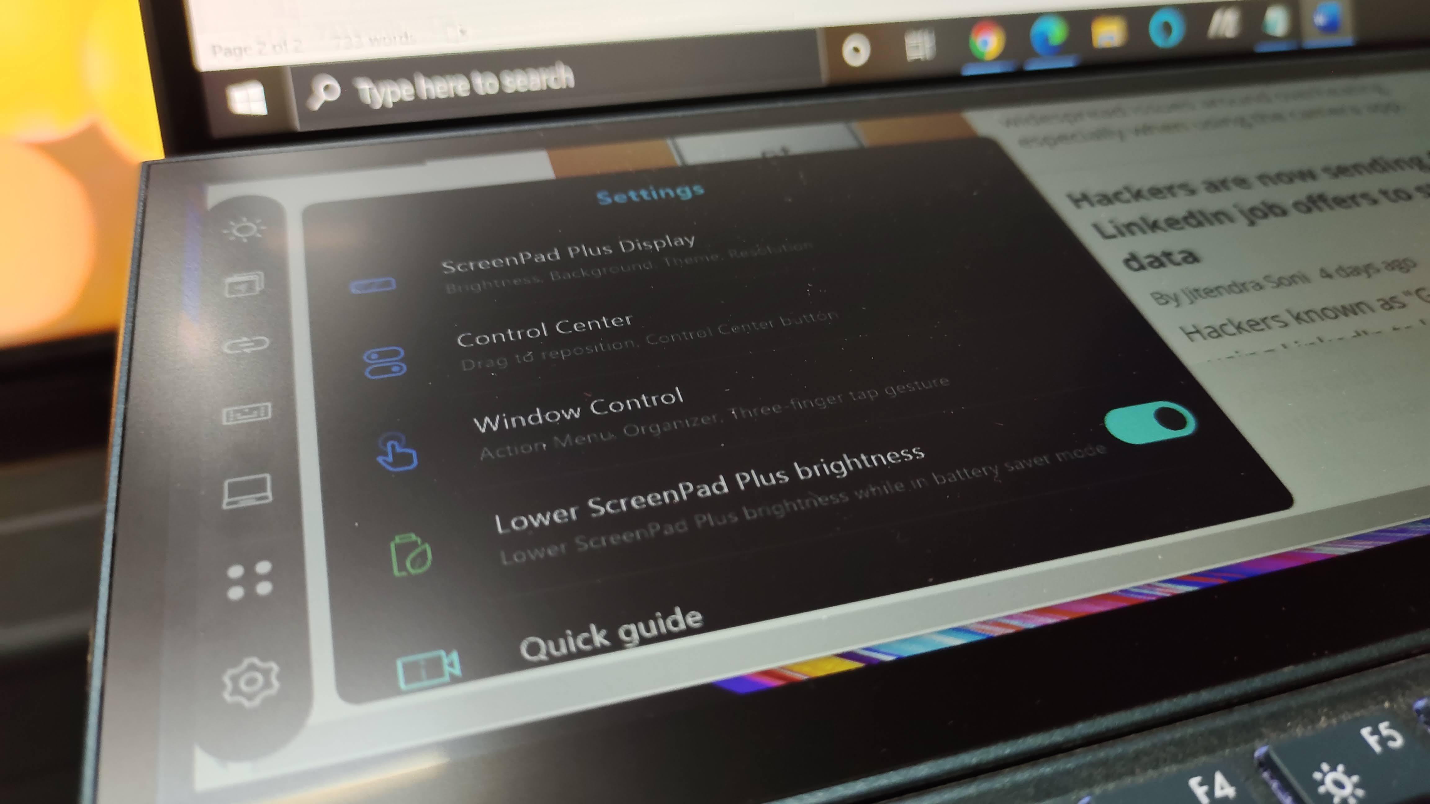 Asus ZenBook Duo UX482EG