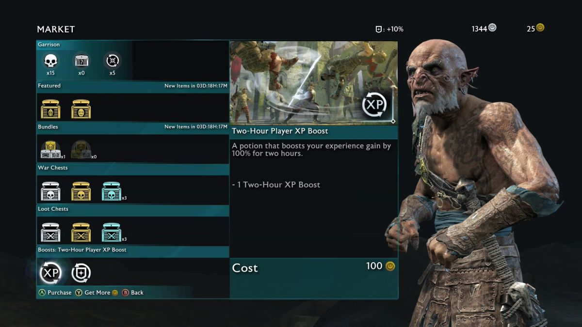 Middle-earth: Shadow of War - How to Easily Earn XP and Level Up