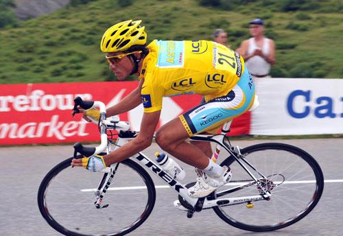 Alberto Contador, Tour de France 2009, stage 17