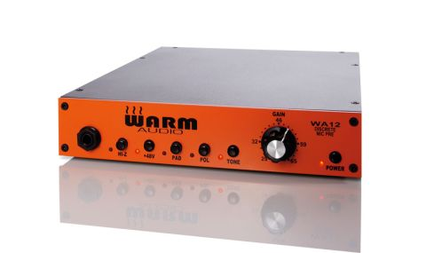 The WA12 will handle any mic you plug in and is also a great DI