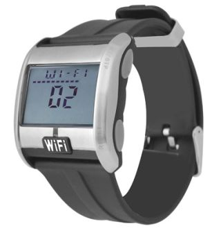 Wi-Fi scanning watch