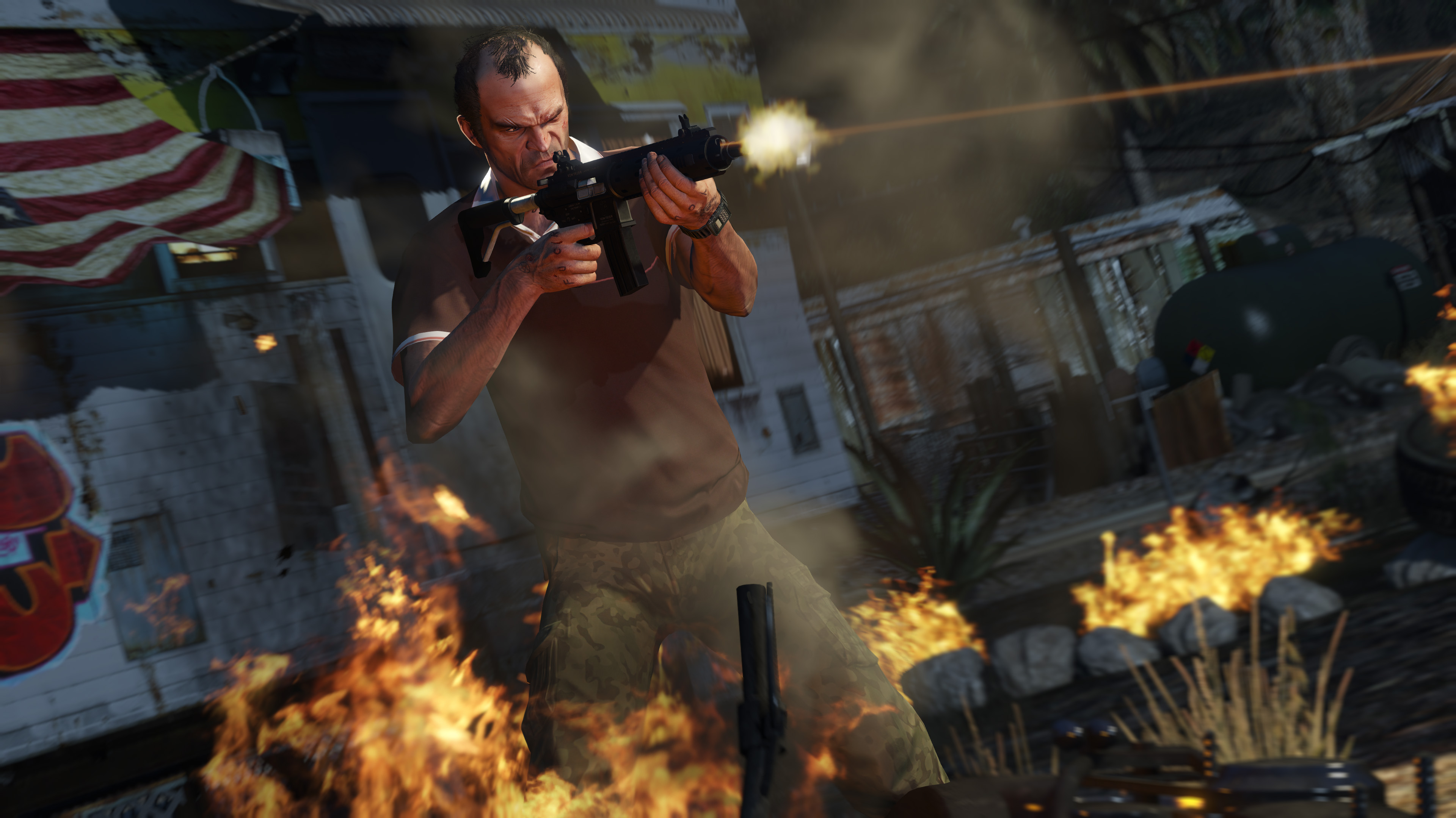GTA 5 trainer allows for unlimited health and ammo | PC Gamer