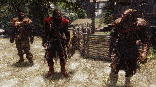the best skyrim mods: immersive armour