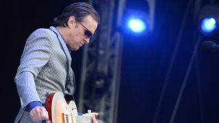 Joe Bonamassa is feeling kind of blue on his upcoming solo album.