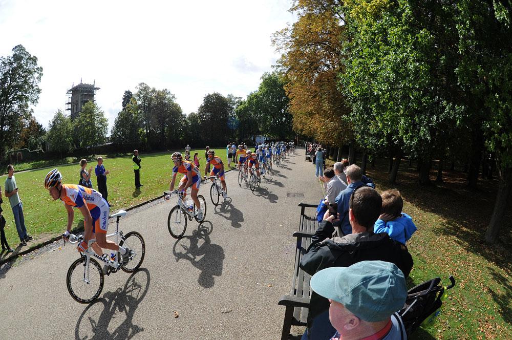 Christchurch Park, Ipswich, Tour of Britain 2011, stage seven