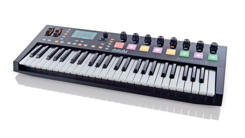 The Advance series has 25, 49 and 61-note models (not weighted currently) and the keybeds send velocity and aftertouch