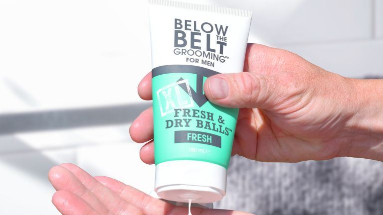 Fresh & Dry Balls is the deodorant that does exactly what you expect it to