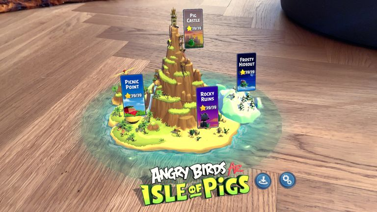 Angry Birds AR: Isle of Pigs Release Date Price