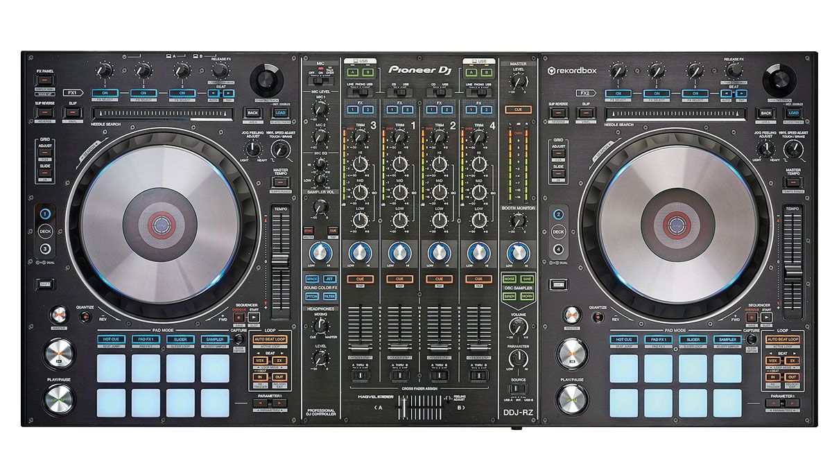 Pioneer Ddj Rz Dj Controller Review Musicradar