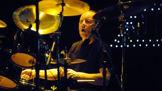 Phil Downey performing with Thin Lizzy, Chicago, 2011