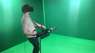 Serious Sam VR Minigun
