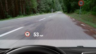 Head-up displays coming to cars