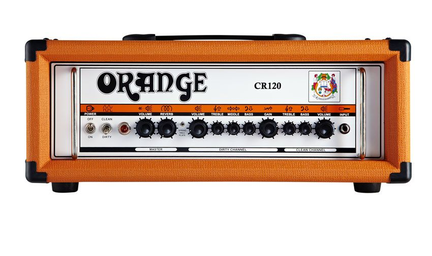 orange crush pro series cr120h musicradar. Black Bedroom Furniture Sets. Home Design Ideas