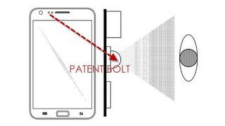 Samsung Galaxy S5 eye scanner