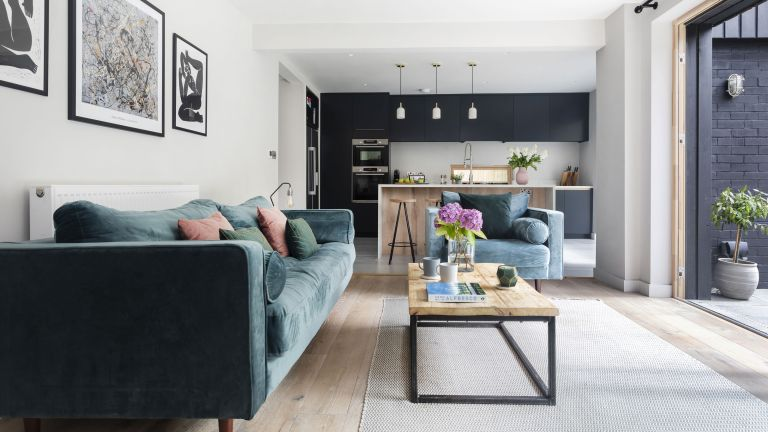 Rob and Emma Pollard's once poky 1970s house is now unrecognisable after a major redesign, with twice the space