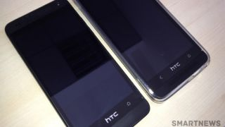 HTC One Mini leaked photos in black