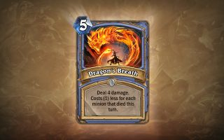 Hearthstone Blackrock Mountain Dragon's Breath