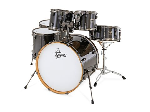 Black nickel (exclusive to Ebony finish) covers every metal component of the Catalina Maple Kit except tension rods.